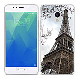 Чехол-накладка TPU Image Paris для Meizu M5s, фото 2