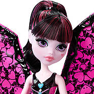 Дракулаура Кукла Монстер Хай  Летучая Мышь Monster High Ghoul-to-Bat Transformation Draculaura Doll, фото 5