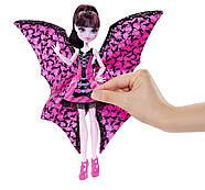 Дракулаура Кукла Монстер Хай  Летучая Мышь Monster High Ghoul-to-Bat Transformation Draculaura Doll, фото 10