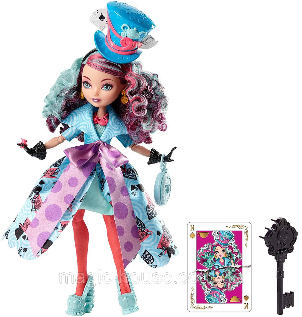 Кукла Эвер Афтер Хай Мэдлин Хаттер  Путь в Страну Чудес Ever After High Madeline Hatter Doll