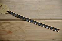 Оригинальный браслет двухцветный из металла оптом в Киеве. 97