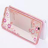 Чехол силиконовый TPU Glaze rose gold для Meizu M5 Note, фото 2