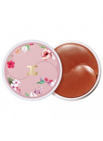 Корейские гидро-гелевые патчи Jay Jun Roselle Tea Eye Gel Patch с цветочным экстрактом ( качество оригинала)
