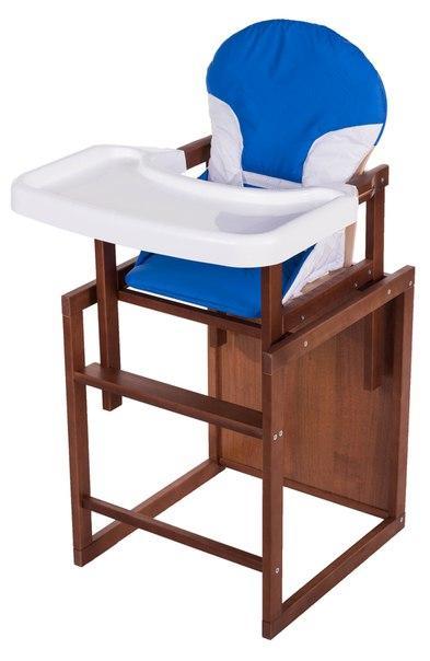 Стульчик- трансформер For Kids Бук-04 темный пластиковая столешница  синий