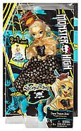 Кукла Монстр Хай Дана Трежура Джонс Кораблекрушение Monster High Shriekwrecked Dayna Treasura Jones Doll, фото 3