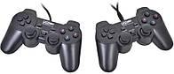Usb джойстик для ПК PC GamePad DualShock DJ-2082 с вибро 2шт