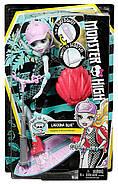 Кукла Монстер Хай Лагуна Блю На скейтборде-самокате Monster High Surf-To-Turf Scooter Vehicle with Lagoona Bl, фото 7