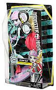 Кукла Монстер Хай Лагуна Блю На скейтборде-самокате Monster High Surf-To-Turf Scooter Vehicle with Lagoona Bl, фото 8
