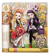 Ever After High School Spirit Apple White and Raven Queen Doll Набор кукол Эвер Афтер Хай Рейвен Квин и Эппл У, фото 2