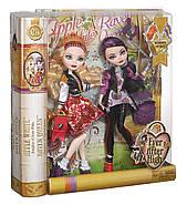 Ever After High School Spirit Apple White and Raven Queen Doll Набор кукол Эвер Афтер Хай Рейвен Квин и Эппл У, фото 10