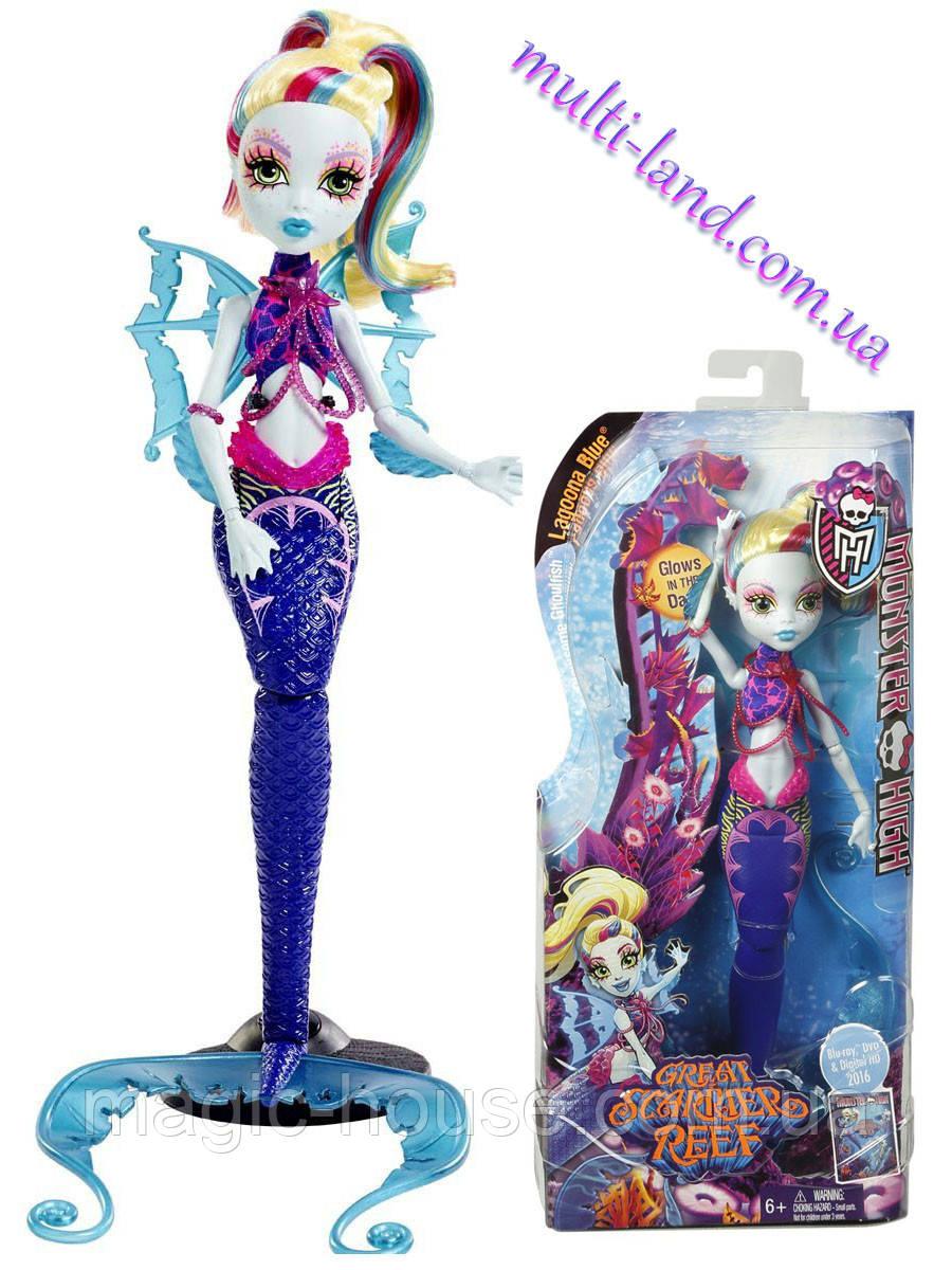 Кукла Монстер Хай Лагуна Блю Большой Кошмарный Риф Monster High Great Scarrier Reef Lagoona Blue