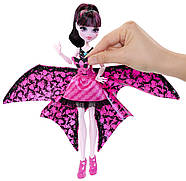 Кукла Монстер Хай Дракулаура Летучая Мышь Monster High Ghoul-to-Bat Transformation Draculaura Doll, фото 9