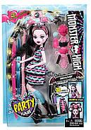 Monster High Girls Party Hair Draculaura Doll Кукла Монстер Хай Дракулаура Вечеринка причесок, фото 2
