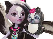 Лялька Энчантималс Скунси Сейдж і Скунс Капер Enchantimals Sage Skunk and Caper, фото 5