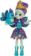 Кукла Энчантималс Павлина Пэттер и Флэп Enchantimals Patter Peacock Doll with Flap, фото 2