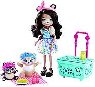 Игровой набор Энчантималс Пикник на природе  Enchantimals Paws for a Picnic Doll and Playset, фото 2