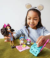 Игровой набор Энчантималс Пикник на природе  Enchantimals Paws for a Picnic Doll and Playset, фото 7