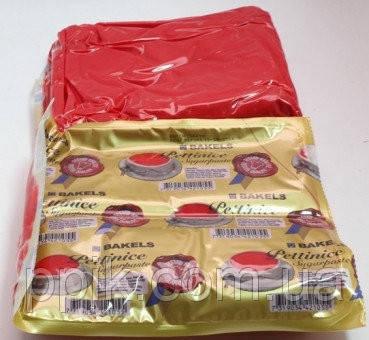 Красная Мастика (сахарная паста) BAKELS для обтяжки 1 кг, фото 2