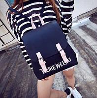 Рюкзак городской женский Moments black, фото 1