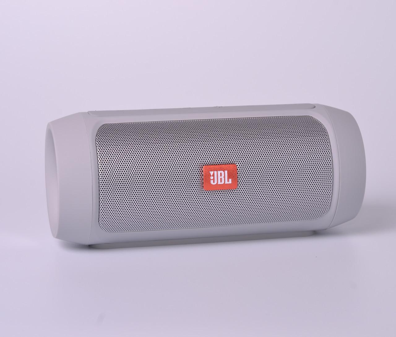 Колонка Bluetooth JBL Charge 2+ реплика silver