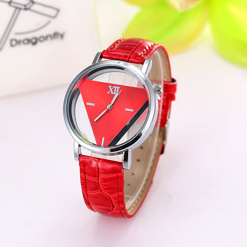 Часы женские Triangle red (красный)