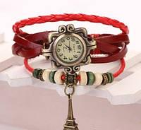 Винтажные женские наручные часы Shambala red (красный), фото 1