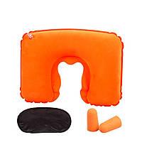Подушка подголовник комплект VIOLET orange (оранжевый), фото 1