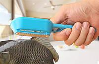 Нож для чистки рыбы blue (синий), фото 1