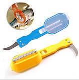Нож для чистки рыбы blue (синий), фото 6