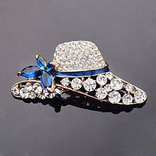 Жіноча брошка Hat