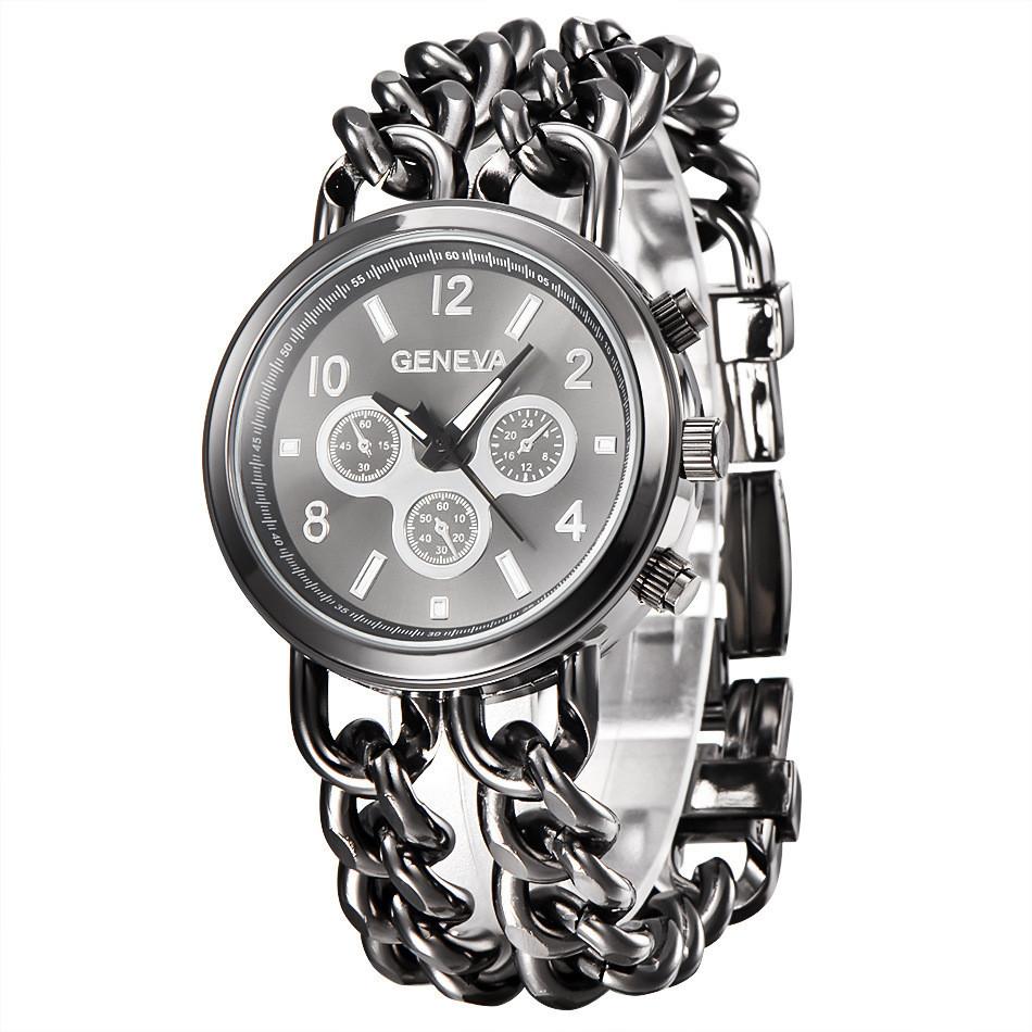 Часы женские наручные Geneva Imprez black