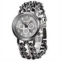 Часы женские наручные Geneva Imprez black, фото 1