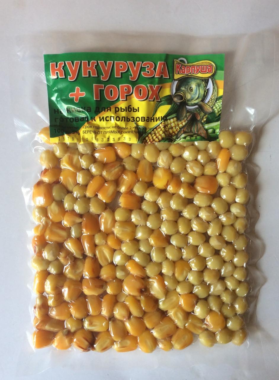 Кукуруза + горох  100 г.