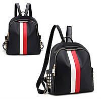 Стильный женский рюкзак Runway red-white, фото 1