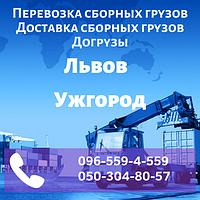 Перевозка сборных грузов Львов - Ужгород. Доставка сборных грузов. Догрузы.