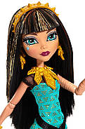 Monster High Signature Look Core Cleo De Nile Doll Кукла Монстр Хай Клео де Нил Первый день в школе, фото 3