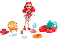 Кукла Энчантималс Краб Камео и крабик Чела Enchantimals Cameo Crab Dolls, фото 4