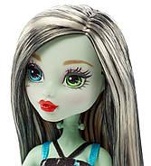 Кукла Монстер Хай Френки Штейн на велосипеде Оригинал от Маттел Monster High Bol Frankie Stein Doll & Vehicle, фото 3