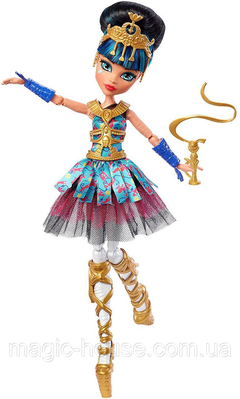 Кукла Монстр Хай Клео Де Нил  Девочки балерины Monster High Ballerina Ghouls Cleo De Nile