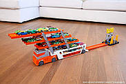 Хот Вилс автовоз для 50 машинок Hot Wheels Mega Hauler, фото 6