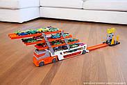 Хот Вилс автовоз для 50 машинок Hot Wheels Mega Hauler, фото 7