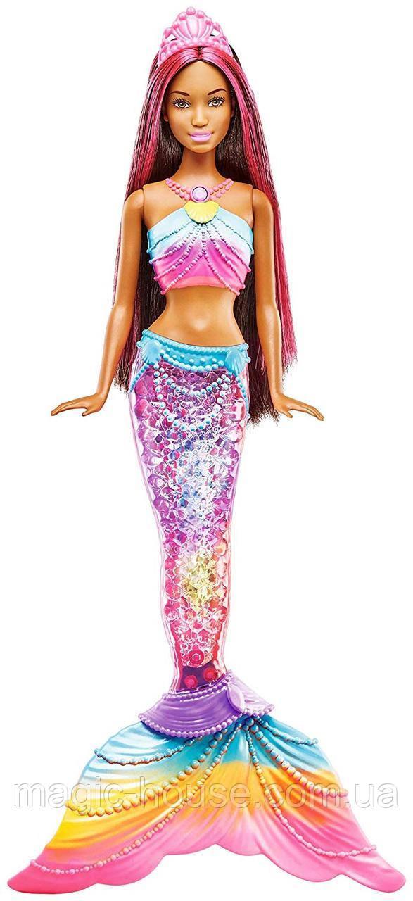 КуклаBarbie-русалка радужные огонькиDreamtopia Mermaid Rainbow Lights Doll