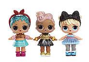 ЛОЛ Сюрприз!Оригинал! Блестящая серия Глэм Глиттер L.O.L. Surprise! Glam Glitter Series Doll with 7 Surprises, фото 4