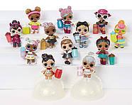 ЛОЛ Сюрприз!Оригинал! Блестящая серия Глэм Глиттер L.O.L. Surprise! Glam Glitter Series Doll with 7 Surprises, фото 6