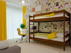 Двоярусне ліжко НеоМеблі Твікс 80х190 (NM33), фото 2