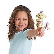 Интерактивная обезьянкаФингерлинг Джес с малышкой Эдэн ОригиналFingerlings Baby Monkey Jess & Eden, фото 5