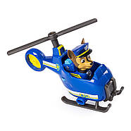 Щенячий патруль Чейз гонщик и мини  вертолет Оригинал PAW Patrol Ultimate Rescue Chase's Mini Helicopter, фото 2