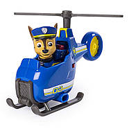 Щенячий патруль Чейз гонщик и мини  вертолет Оригинал PAW Patrol Ultimate Rescue Chase's Mini Helicopter, фото 3