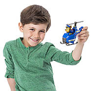 Щенячий патруль Чейз гонщик и мини  вертолет Оригинал PAW Patrol Ultimate Rescue Chase's Mini Helicopter, фото 6