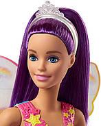 КуклаBarbieДримтопия Волшебная фея фиолетовая Barbie Dreamtopia Rainbow Cove Fairy Doll, фото 3